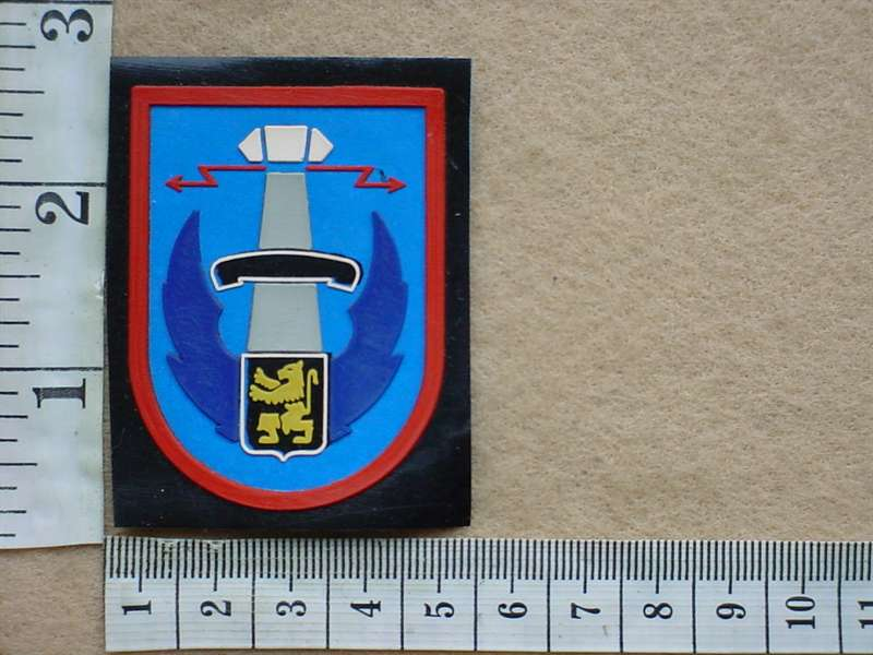 8545 Belgian Air Force arm patch unidentified (Ref  AF Belgium)